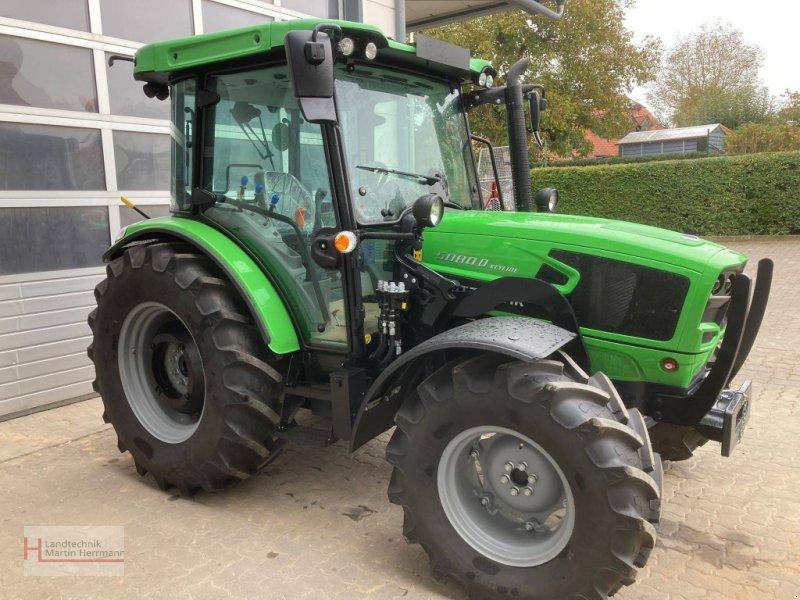 Traktor des Typs Deutz-Fahr 5080 D Keyline, Neumaschine in Steinfeld (Bild 1)