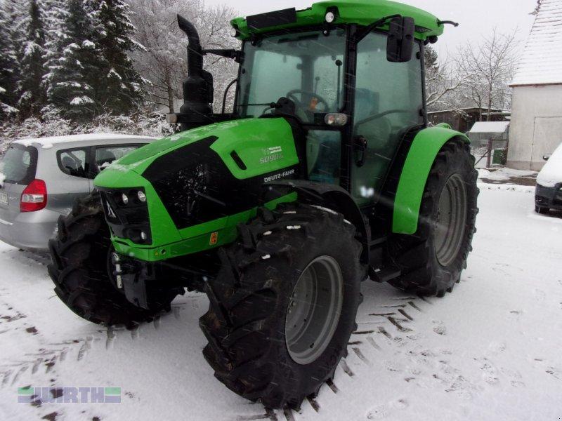 """Traktor des Typs Deutz-Fahr 5090 G Plus GS """"große Bereifung-Leistungsstark-Kompakt-Wendig, Neumaschine in Buchdorf (Bild 1)"""
