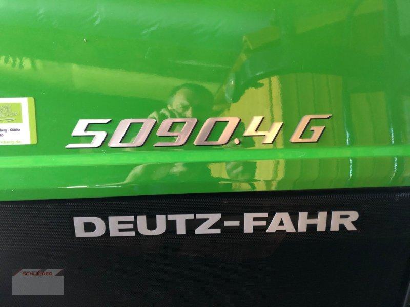 Traktor des Typs Deutz-Fahr 5090.4 G, Gebrauchtmaschine in Schwandorf (Bild 3)
