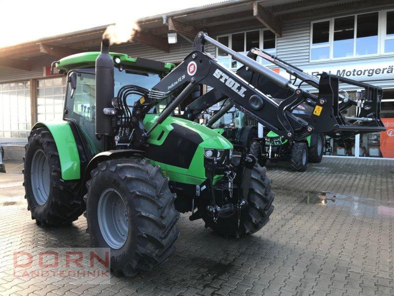 Traktor des Typs Deutz-Fahr 5105 mit Gefederte Achse, Neumaschine in Bruckberg (Bild 1)