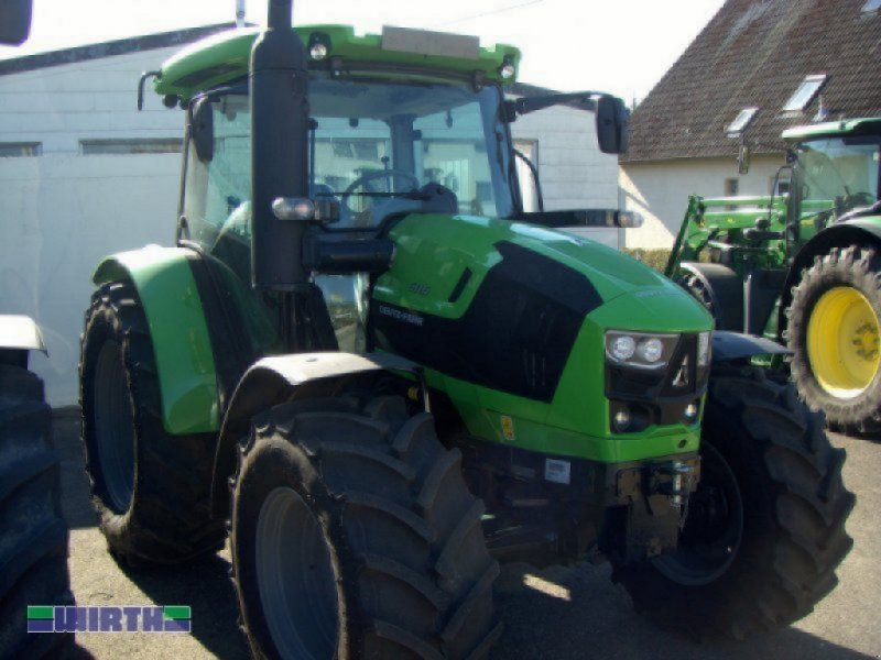 """Traktor des Typs Deutz-Fahr 5115 """"mit Fronthydraulik und Frontzapfwelle"""", Neumaschine in Buchdorf (Bild 1)"""