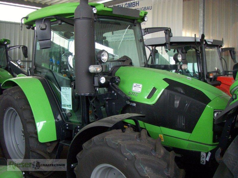 """Traktor des Typs Deutz-Fahr 5115 """" Tageszulassung """", Neumaschine in Nördlingen (Bild 1)"""