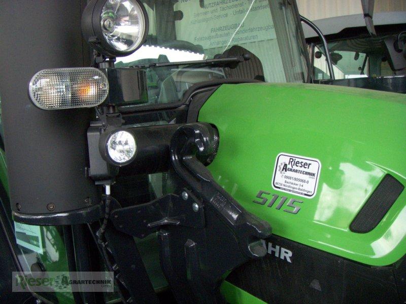 """Traktor des Typs Deutz-Fahr 5115 """" Tageszulassung """", Neumaschine in Nördlingen (Bild 12)"""