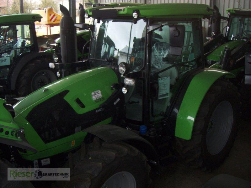 """Traktor des Typs Deutz-Fahr 5115 """" Tageszulassung """", Neumaschine in Nördlingen (Bild 7)"""
