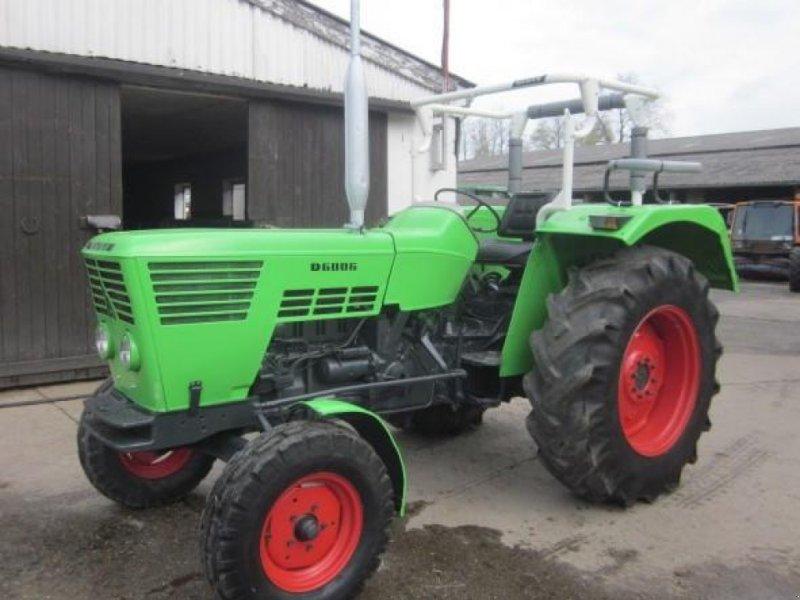 Traktor a típus Deutz-Fahr 6006, Gebrauchtmaschine ekkor: Ziegenhagen (Kép 1)