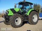 """Traktor des Typs Deutz-Fahr 6130 TTV """"mit Frontlader"""" in Nördlingen"""