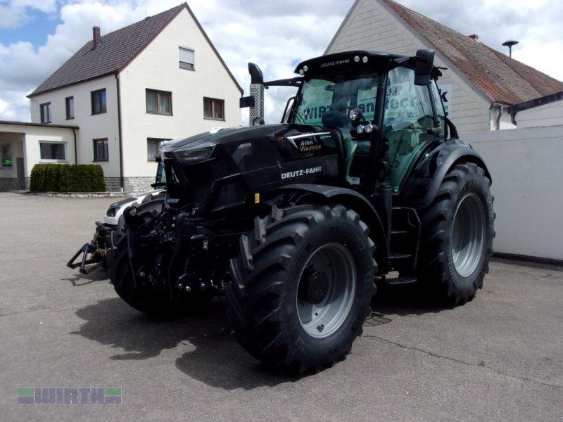 """Traktor des Typs Deutz-Fahr 6165 Agrotron """"Warrior schwarz"""", Neumaschine in Buchdorf (Bild 1)"""