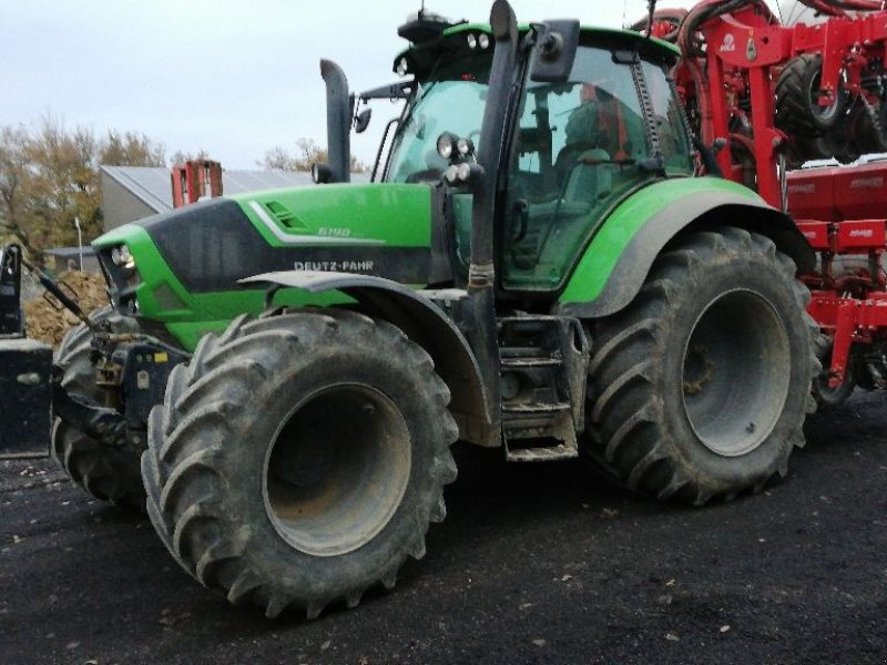 Traktor tipa Deutz-Fahr 6190 TTV, Gebrauchtmaschine u ST ELIX THEUX (Slika 1)