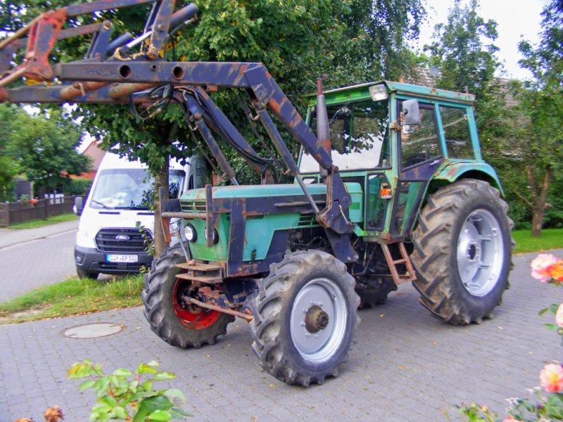 Traktor des Typs Deutz-Fahr 7206 Frontlader+Lenkhilfe, Neumaschine in Kutenholz (Bild 1)
