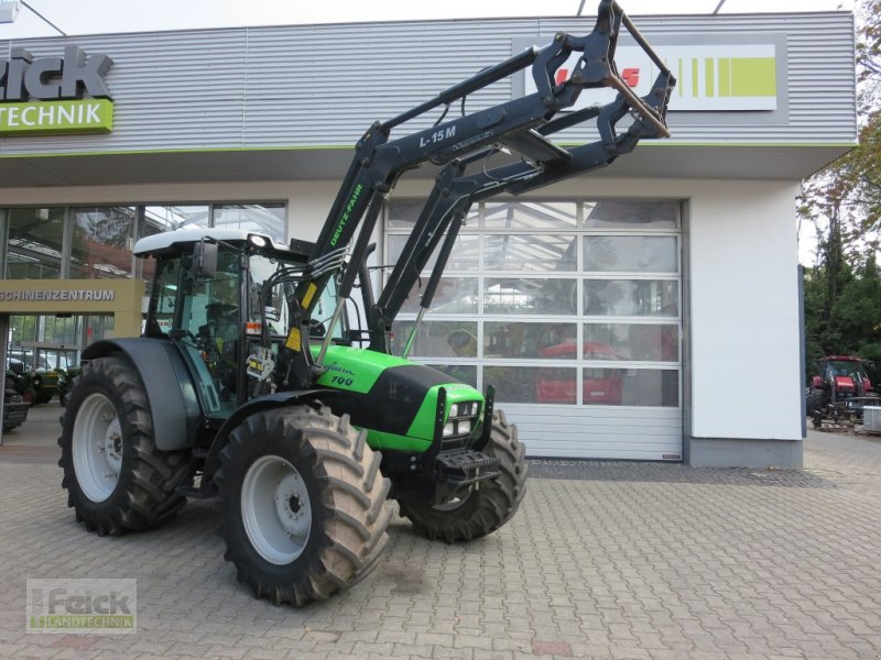 Фотография Deutz-Fahr Agrofarm 100 mit Deutz-Motor