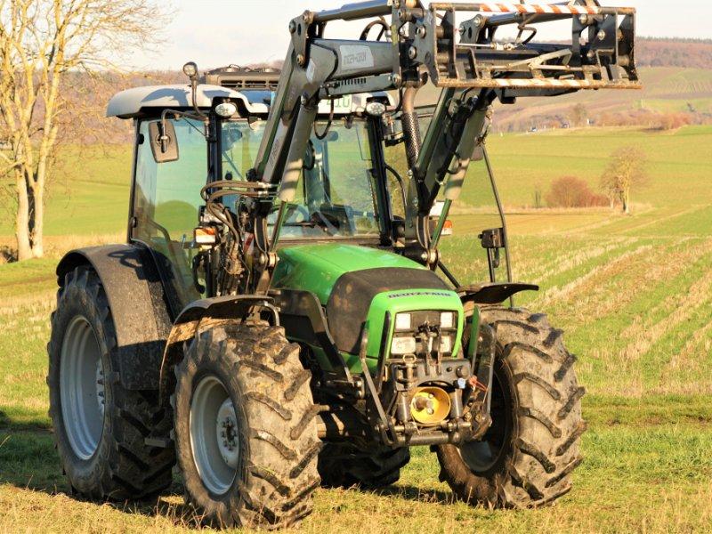 Traktor des Typs Deutz-Fahr Agrofarm 410, Gebrauchtmaschine in Guldental (Bild 1)