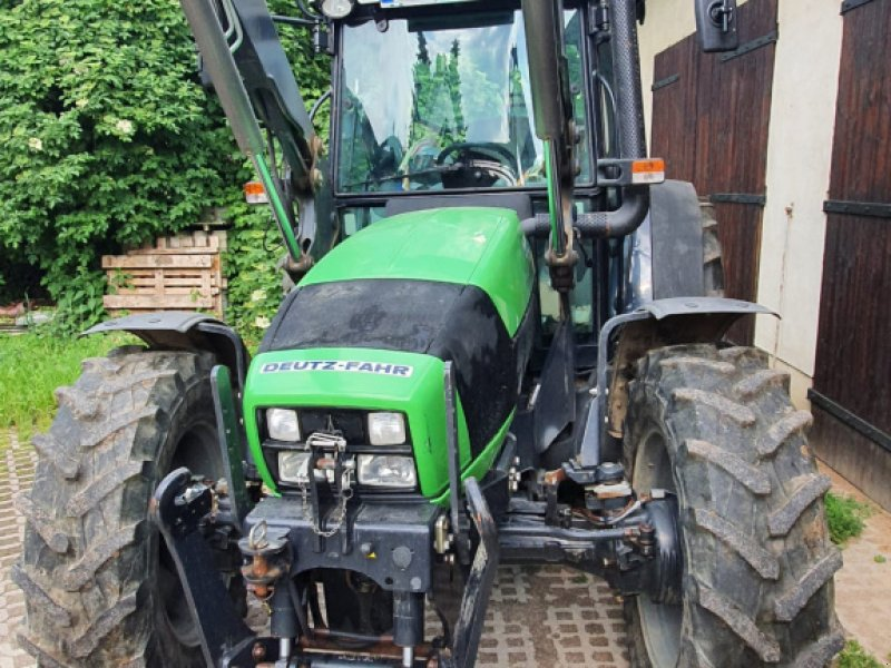 Traktor типа Deutz-Fahr Agrofarm 430 TTV, Gebrauchtmaschine в Frohburg (Фотография 1)