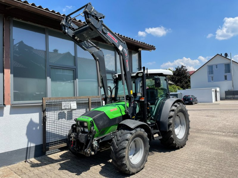 Deutz-Fahr Agroplus 420 Allrad Traktor Schlepper FRONTLADER FKH FZW Traktor