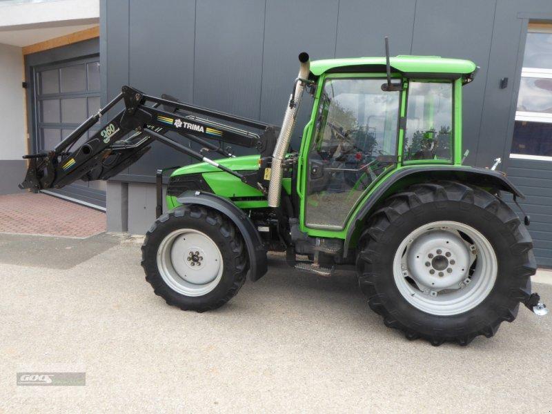 Traktor типа Deutz-Fahr Agroplus 70 Allr. mit Industriefrontlader. Guter Originalzustand, Gebrauchtmaschine в Langenzenn (Фотография 1)