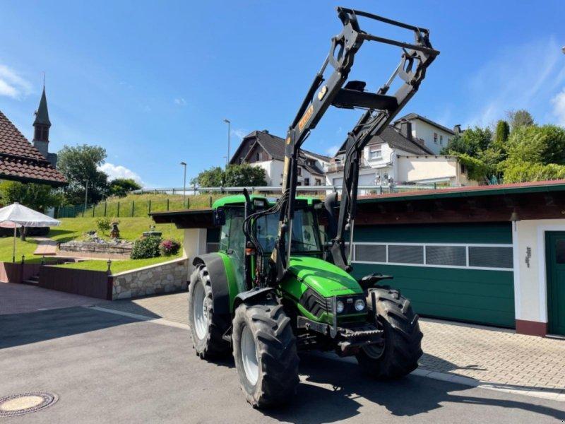 Traktor des Typs Deutz-Fahr Agroplus 85 wie 75 95 Allradtraktor mit Frontlader 40km/h TÜV 3800 Stunden, Gebrauchtmaschine in Niedernhausen (Bild 1)
