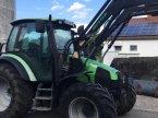 Traktor des Typs Deutz-Fahr Agrotron 100 MK3 mit Frontlader in Heiden