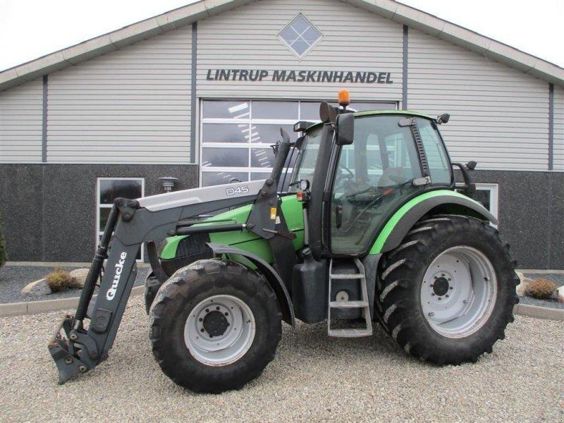 Traktor des Typs Deutz-Fahr Agrotron 115 MK3 med ÅLØ Q45 frontlæsser, Gebrauchtmaschine in Lintrup (Bild 1)