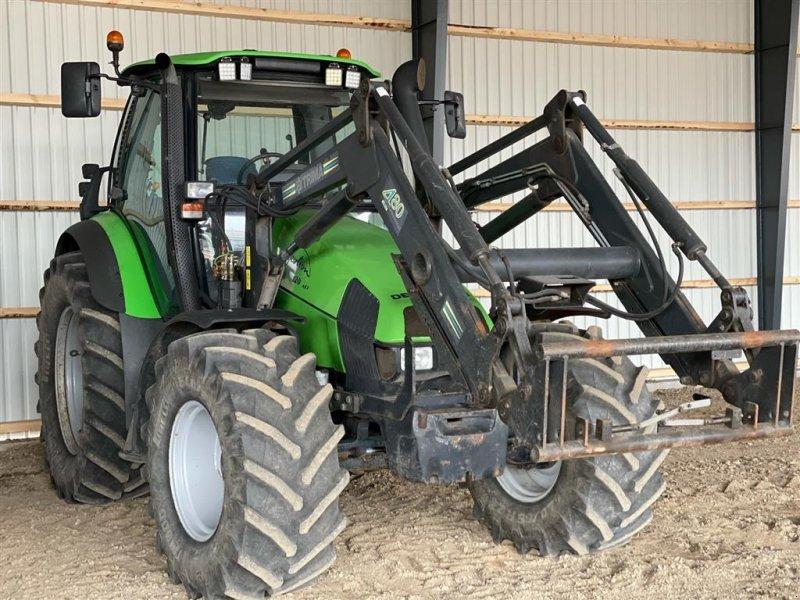 Traktor типа Deutz-Fahr Agrotron 120 MK3 m/ Trima 480 fr. læsser, Gebrauchtmaschine в Brørup (Фотография 1)
