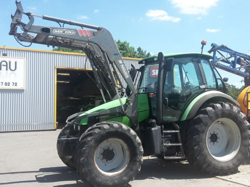 Traktor typu Deutz-Fahr AGROTRON 120 MK3, Gebrauchtmaschine w CHAILLOUÉ (Zdjęcie 1)
