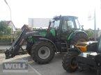 Traktor des Typs Deutz-Fahr Agrotron 128 in Bad Neustadt a.d. Saale