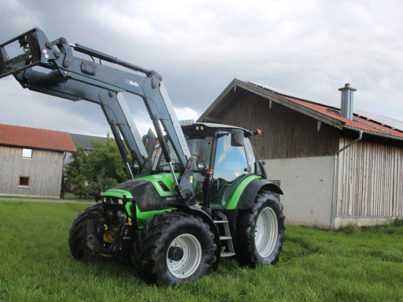Traktor des Typs Deutz-Fahr Agrotron 430 TTV, Gebrauchtmaschine in Trostberg (Bild 1)