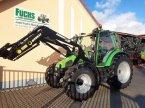 Traktor типа Deutz-Fahr Agrotron 4.85s mit Stoll-Industriefrontlader und Klimaanlage в Laaber