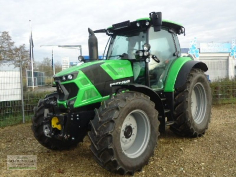 Traktor του τύπου Deutz-Fahr Agrotron 6140 TTV, Neumaschine σε Steisslingen (Φωτογραφία 1)