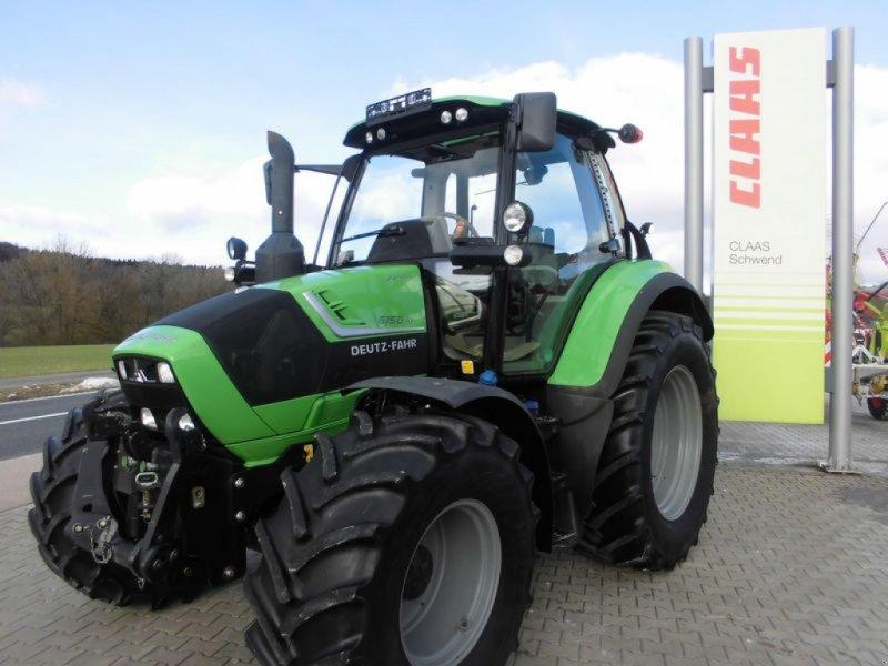 Traktor des Typs Deutz-Fahr AGROTRON 6150.4, Gebrauchtmaschine in Birgland (Bild 1)