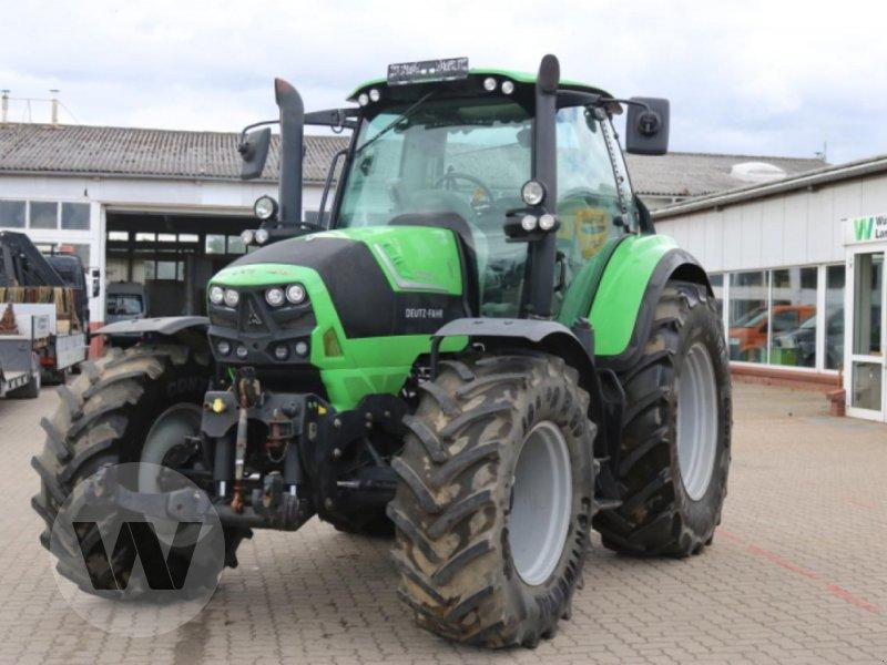 Traktor des Typs Deutz-Fahr Agrotron 6160 TTV, Gebrauchtmaschine in Jördenstorf (Bild 2)