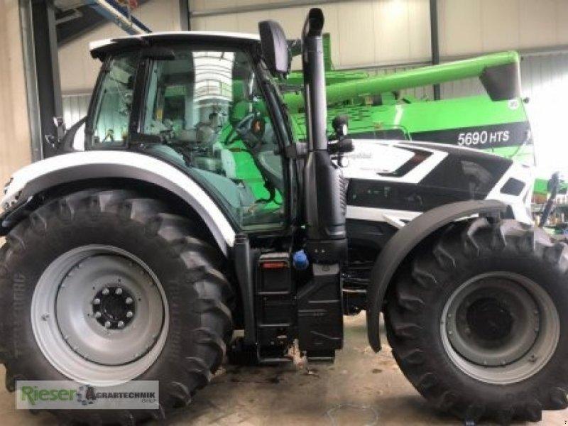 Traktor des Typs Deutz-Fahr Agrotron 6165 TTV (Spark 165 VRT), Neumaschine in Nördlingen (Bild 1)