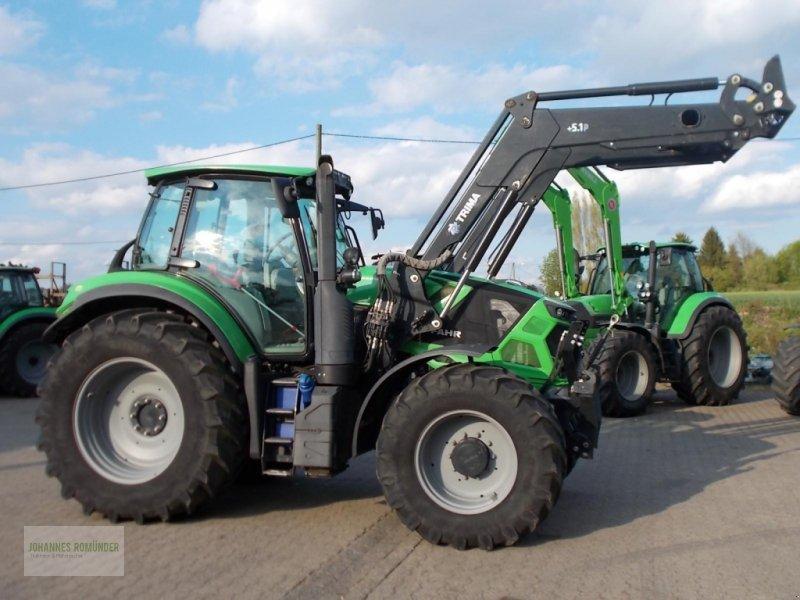 Traktor des Typs Deutz-Fahr AGROTRON 6165, Gebrauchtmaschine in Leichlingen (Bild 1)