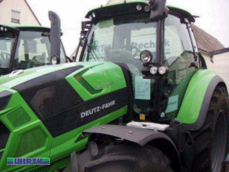 """Traktor des Typs Deutz-Fahr Agrotron 6175.4 TTV """"stufenlos"""", Neumaschine in Buchdorf (Bild 1)"""