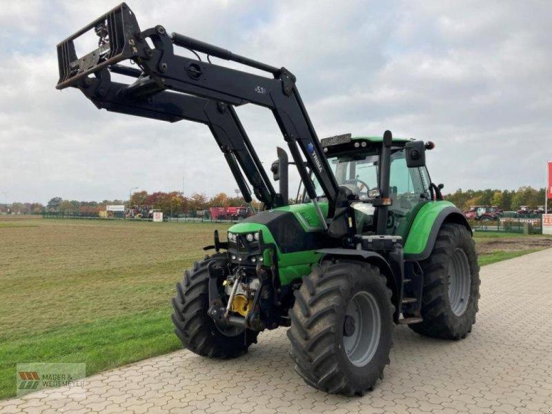 Traktor типа Deutz-Fahr AGROTRON 6180 TRIMA, FKH, FZW, Gebrauchtmaschine в Oyten (Фотография 1)