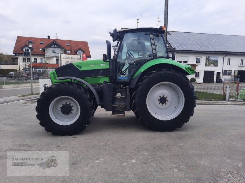 Traktor des Typs Deutz-Fahr Agrotron 7210 TTV, Gebrauchtmaschine in Stetten (Bild 1)