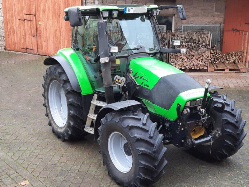 Traktor типа Deutz-Fahr Agrotron K 120, Gebrauchtmaschine в Ochsenfurt (Фотография 1)