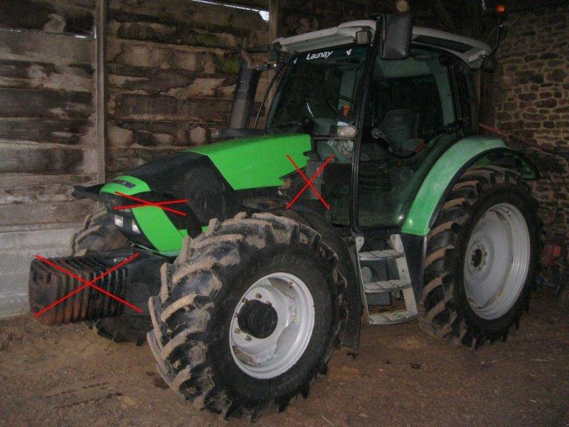 Traktor tipa Deutz-Fahr Agrotron K 420, Gebrauchtmaschine u BRECE (Slika 1)