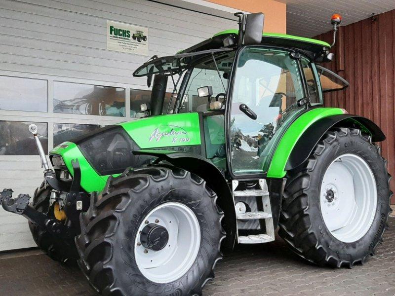 Traktor a típus Deutz-Fahr Agrotron K100 mit Fronthydraulik und Frontzapfwelle, Gebrauchtmaschine ekkor: Laaber (Kép 1)