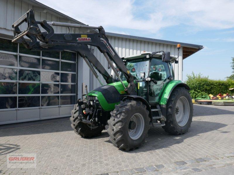 Traktor des Typs Deutz-Fahr Agrotron K410 + Stoll FZ 30, Gebrauchtmaschine in Dorfen (Bild 1)