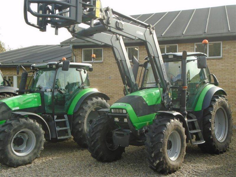 Traktor des Typs Deutz-Fahr Agrotron M-600 m/ Ålø Q56 Frontlæsser, Gebrauchtmaschine in Viborg (Bild 1)