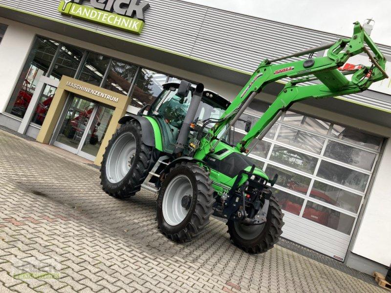 Traktor des Typs Deutz-Fahr Agrotron TTV 420, Gebrauchtmaschine in Reinheim (Bild 1)