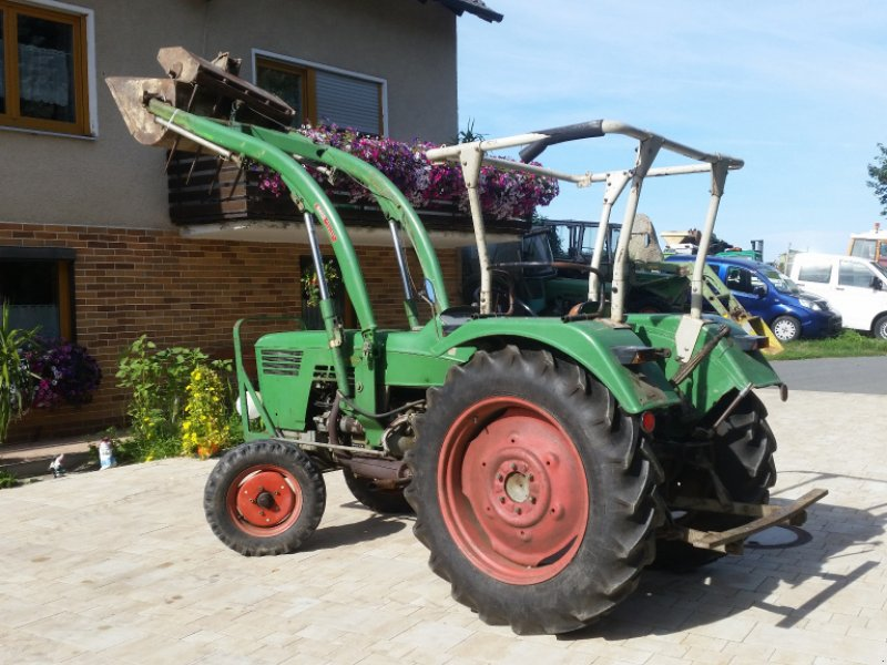 Traktor типа Deutz-Fahr D 4006 + Frontlader, Gebrauchtmaschine в Reuth (Фотография 16)