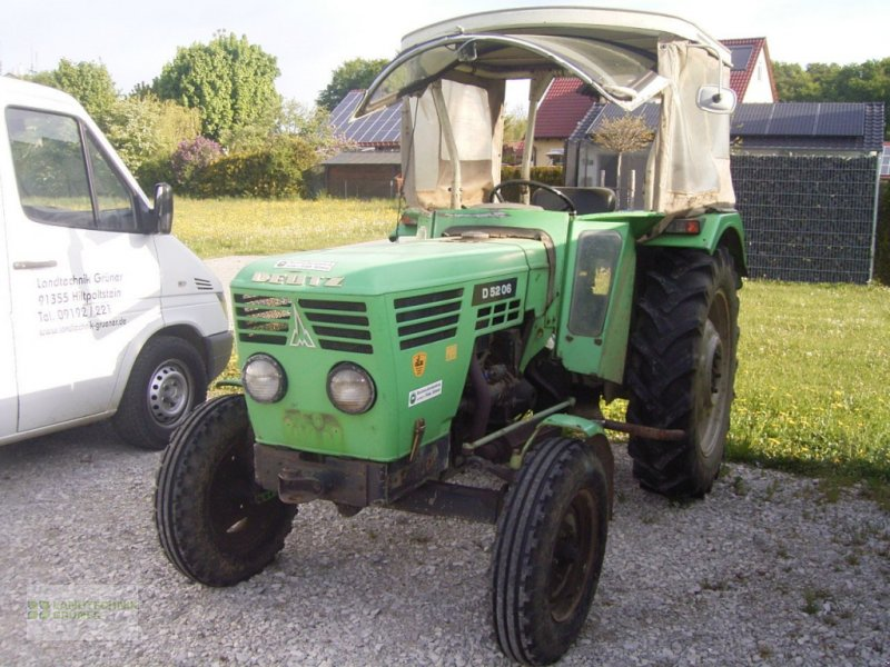 Traktor des Typs Deutz-Fahr D 5206, Gebrauchtmaschine in Hiltpoltstein (Bild 1)