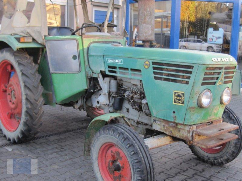 Traktor типа Deutz-Fahr D 5506-S, Gebrauchtmaschine в Lörzweiler (Фотография 1)
