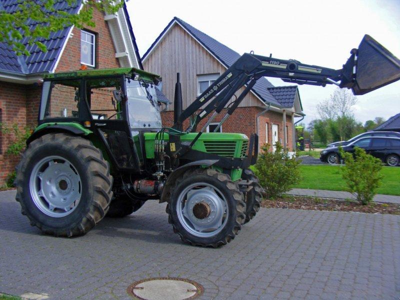Traktor des Typs Deutz-Fahr D 6806 Frontlader+Druckluft, Gebrauchtmaschine in Kutenholz (Bild 1)