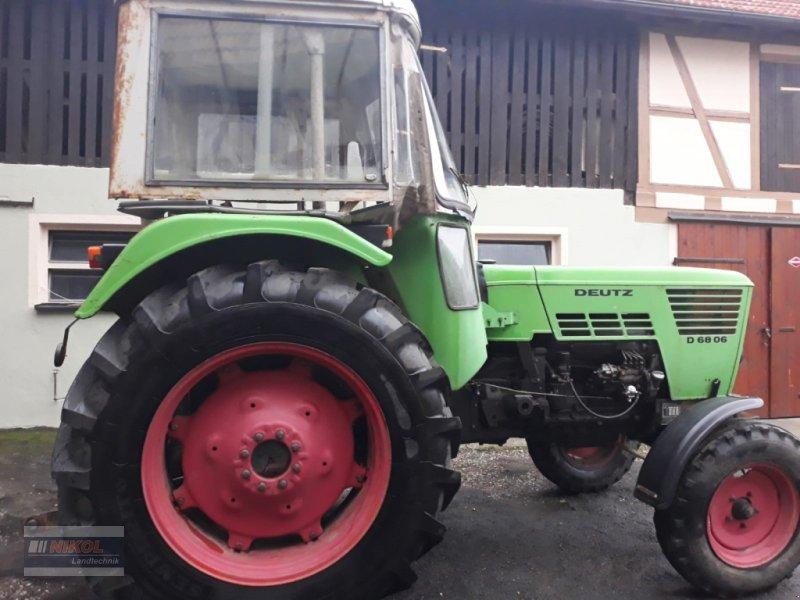 Traktor des Typs Deutz-Fahr D 6806, Gebrauchtmaschine in Lichtenfels (Bild 1)