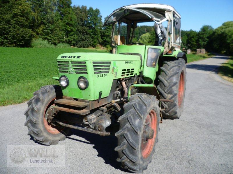 Traktor a típus Deutz-Fahr D 7206 A, Gebrauchtmaschine ekkor: Rudendorf (Kép 1)
