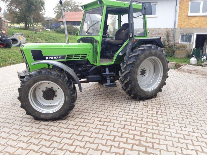 Traktor des Typs Deutz-Fahr D 7207 CA, Gebrauchtmaschine in Abtsteinach (Bild 1)
