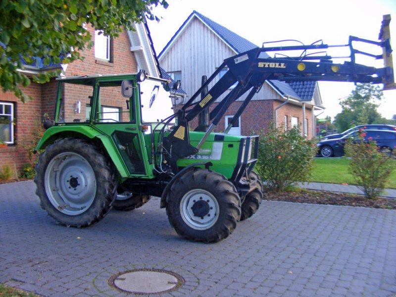Traktor des Typs Deutz-Fahr DX 3.30 Frontlader+Niedrigkabine, Gebrauchtmaschine in Kutenholz (Bild 1)