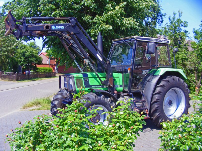 Traktor a típus Deutz-Fahr DX 4.31+ Frontlader, Gebrauchtmaschine ekkor: Kutenholz (Kép 1)