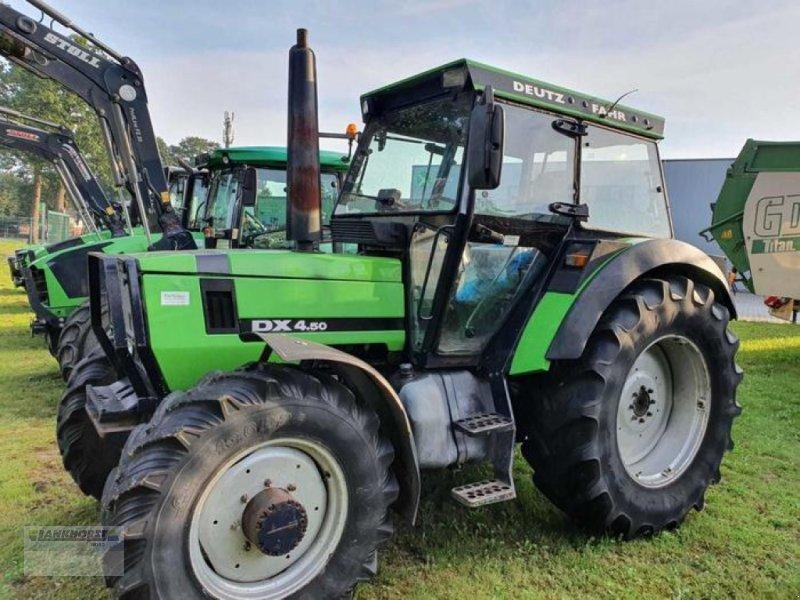Traktor des Typs Deutz-Fahr DX 4.50 A, Gebrauchtmaschine in Wiefelstede-Spohle (Bild 3)